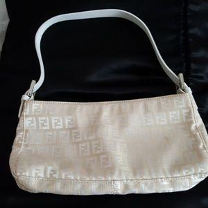 "Fendi handbag 10""   5 1/2"" with extra  custom stra"